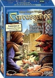 Z-Man Games Carcassonne: Traders & Builders, 2nd Edition, Expansion