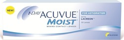 Acuvue Moist 1-Day for Astigmatism 30pack & 5