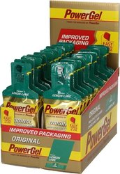 PowerBar PowerGel Extra Sodium Lemon 24x41mg