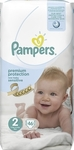 Pampers Sensitive No 2 (3-6Kg) 46τμχ