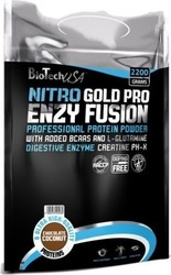 Biotech USA Nitro Gold Pro Enzy Fusion 2200gr Chocolate Butter Cream