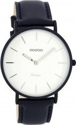 Oozoo Vintage Dark Blue - White C7741