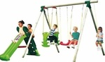 Little Tikes Strasbourg Slide and Swing Set