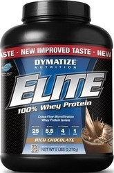 Dymatize Elite Whey Protein 5Lbs Chocolate Fudge