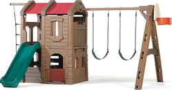 Step2 Naturally Playful: Adventure Lodge Play Center