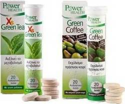 Power Health Xs Green Tea 20 Δισκία & Green Coffee 20 Δισκία