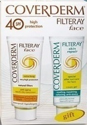 Coverderm Filteray Face SPF40 50ml & Filteray Skin Repair After Sun 50ml