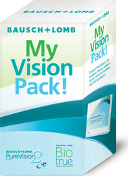 43b0bb070d Bausch   Lomb PureVision 2HD Μηνιαίοι 3pack   Biotrue 60ml   1pack