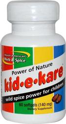 North American Herb & Spice Kid-E-Kare Power Nature 60 μαλακές κάψουλες