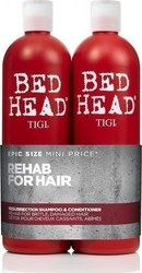 Tigi Bed Head Resurrection Duo Shampoo 750ml & Conditioner 750ml