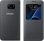 Samsung S-View Cover Black (Galaxy S7 Edge)