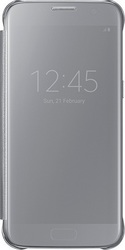 Samsung Clear View Cover Silver (Galaxy S7)