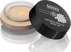 Lavera Natural Mousse Make Up Cream Foundation 01 Ivory 15gr