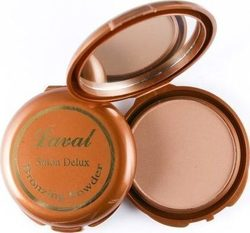 Laval Salon Deluxe Pressed Bronzing Powder Dark Matte 11gr