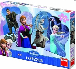 Frozen 4x54pcs (33312) Dino