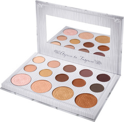 Cosmeticbay Carli Bybel - 14 Color Eyeshadow & Highlighter Palette
