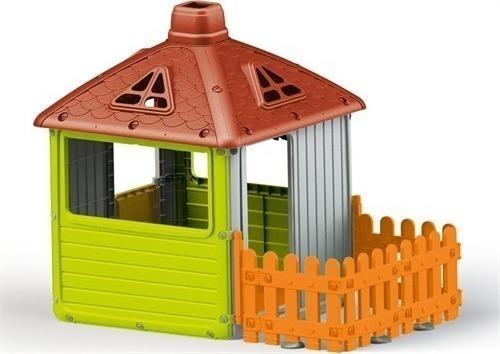 1f95005ff10c Προσθήκη στα αγαπημένα menu OEM Σπιτάκι Κήπου Με Πορτοκαλί Φράχτη