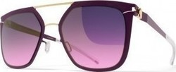 Mykita Decades Sun Jessica Gold/Purple Violet