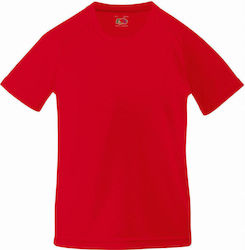 Kids Performance T Fruit of the Loom 61-013-0 - Red