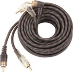 Ground Zero Cable 2x RCA male - 2x RCA male 5m (GZCC-5.1XLC)