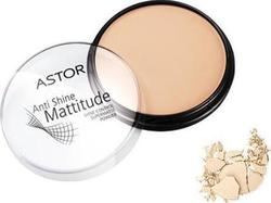 Astor Mattitude Anti Shine Powder Shine Control Supermatte Mattifying Powder 001 Ivory 14gr