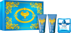 Versace Eau Fraiche Man Eau de Toilette 50ml & Shower Gel 50ml & After Shave Balm 50ml