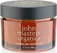 John Masters Organics Sculpting Clay Medium Hold 60gr