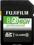 Fujifilm High Professional SDHC 8GB U1