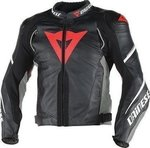 Dainese Super Speed D1 Leather Black/Anthracite/White