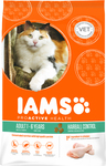 Iams Adult Hairball Control Chicken 2.55kg