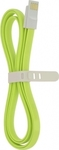 4-OK Flat Magnetic USB 2.0 to micro USB Cable Green 1.2m (USMFLV)