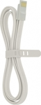 4-OK Flat Magnetic USB 2.0 to micro USB Cable White 1.2m (USMFLB)