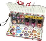 Markwins International Minnie Mouse A Fashionista Cosmetic Clutch Set