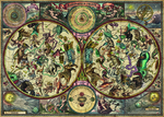 Zigic: Celestial Map 2000pcs (29758) Heye