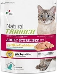Natural Trainer Adult Sterilized White Fresh Meat 0.3kg