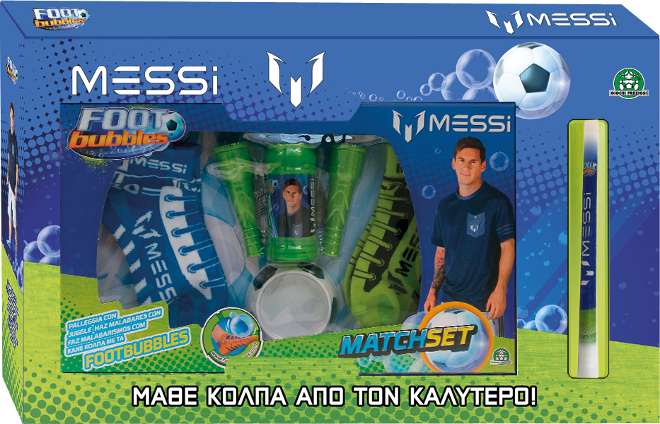 Προσθήκη στα αγαπημένα menu Λαμπάδα Messi Foot Bubbles Match Set MEF06000  Giochi Preziosi 8460ce6dbbd