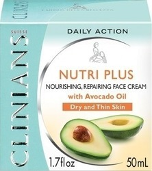 Clinians Nutri Plus Nourishing Repairing Face Cream 50ml