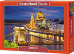 Budapest View at Dusk 2000pcs (C-200405) Castorland