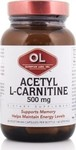 Olympian Labs Acetyl L-Carnitine 500mg 60 κάψουλες
