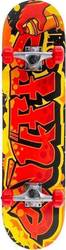 ENUFF GRAFFITI II COMPLETE SKATEBOARD RED 7.75