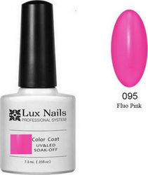 Lux Nails Fluo Pink 095