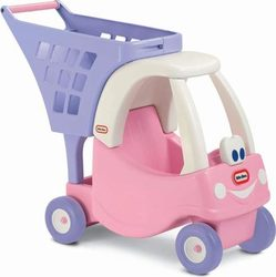 Little Tikes Καρότσι Super Market Cozy Princess