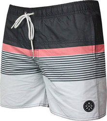 WAXX SWELL BEACH SHORT GREY