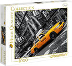 High Quality Collection: Travel N.Y. Taxi 1000pcs (8005125392742) Clementoni