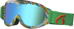 BlueTribe Rainbow White Kids Ski Goggle BT815-G-RB-00