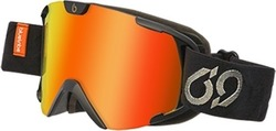BlueTribe Fresh Black Goggles BT815-G-FR-05