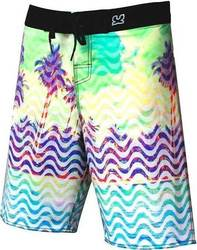 WAXX PRINTED SURF SHORT LANDS