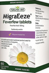 Natures Aid MigraEeze Feverfew 100mg 60 ταμπλέτες