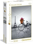 High Quality Collection: Romantic Promenade in Paris 500pcs (35014) Clementoni