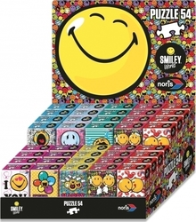 Smiley World Mini Παζλ - 8 Σχέδια 54pcs (606038038) Noris